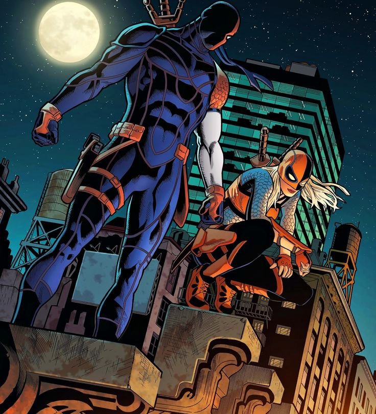 Father & Daughter in Deathstroke #3