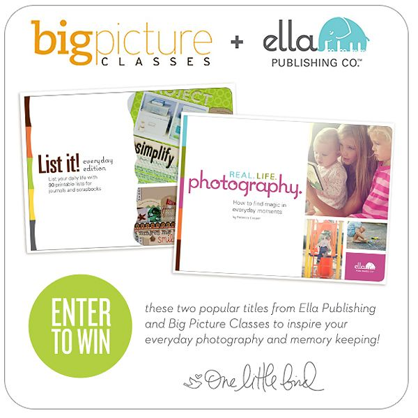 Enter to win two ebook titles from Ella Publishing to inspire your everyday photography and memory keeping. (One Little Bird Designs)Documents Life,  Website, Scrapbook Inspiration, Book Worth, Digital Scrapbook, Ella Publishing, Photography Tips Blog, Ebook Title, Birds Design