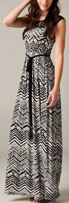 """Maxi dresses are popular again. They are great for """"moms on the go."""""""