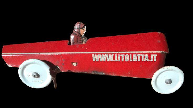 ALEMANNI ITALY TIN RACE CAR '20s www.litolatta.it/BLOG.htm