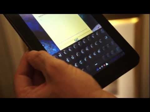 Touchscreen Transform Into a Physical Keyboard