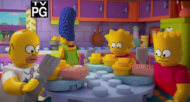 Trailer del episodio LEGO de Los Simpson