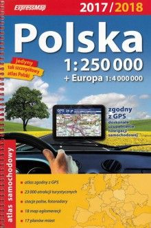 Polska 1:250 000, atlas samochodowy, ExpressMap