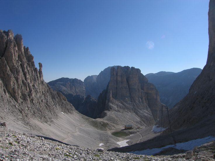 Torri del Vajolet, Dolomiti (Trentino - Italy) - http://www.visittrentino.it/it/aree/val-di-fassa