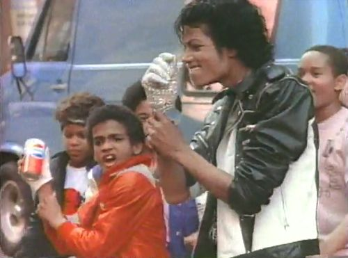Alfonso Ribeiro in 1984 at of age 13 in Pepsi commerical with Michael Jackson.