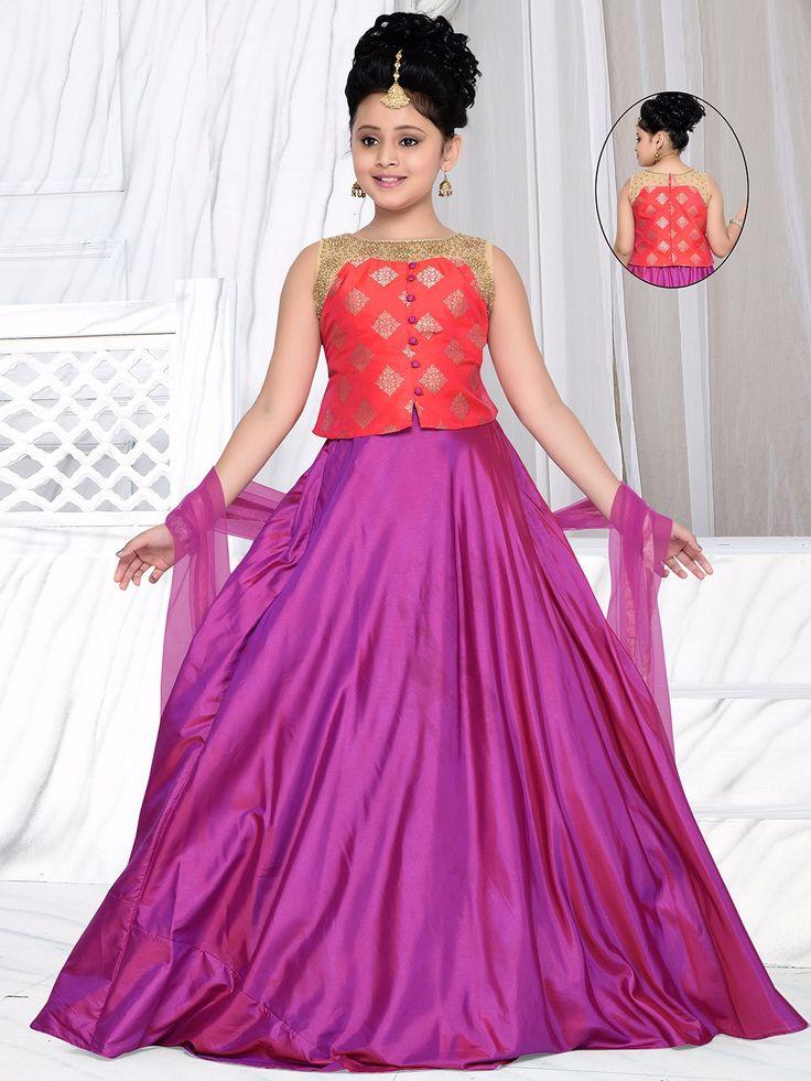 Shop Magenta silk solid lehnega choli online from G3fashion India. Brand - G3, Product code - G3-GCS0424, Price - 3095, Color - Magenta, Fabric - Silk,