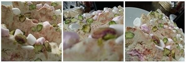 #White Chocolate #Pistachio and #Amaretti #Rocky #Road