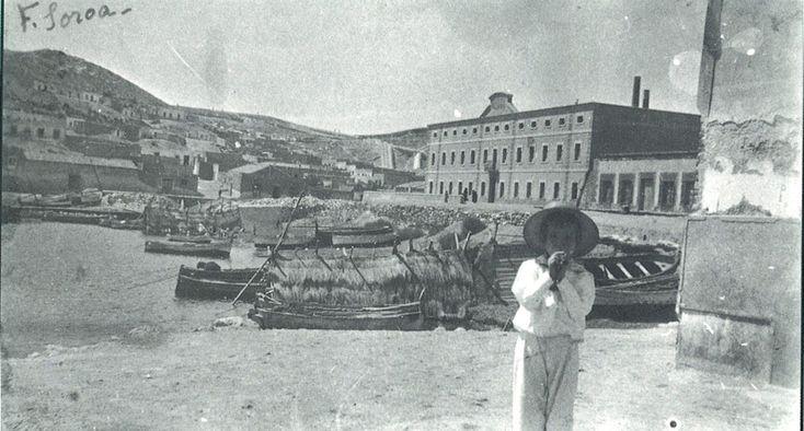 Puerto de Mazarrón 1918 - Cuartel de la Guardia Civil al fondoEl Mazarrón de Ayer - Fotografías antiguas de Mazarrón - Playas de mazarron .com .:: Portal de noticias e información sobre Mazarrón ::. News