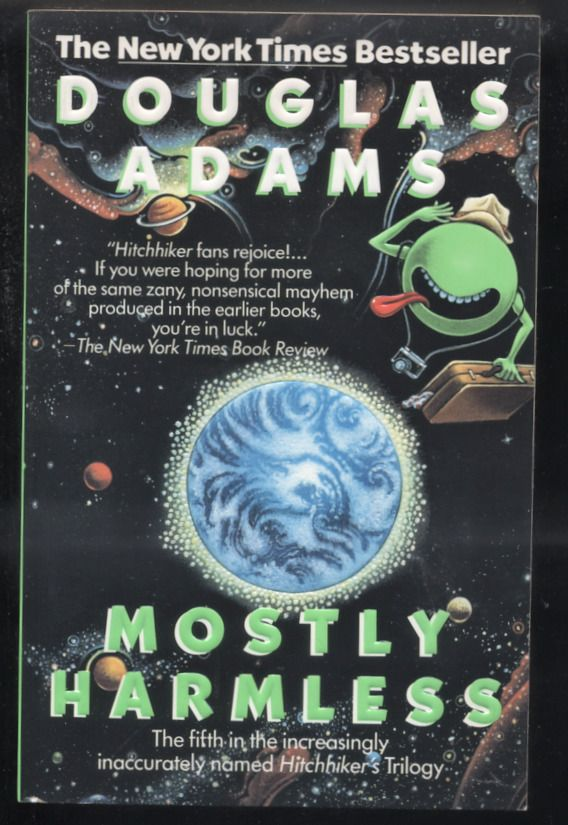 Hitchhiker's Guide to the Galaxy: Mostly Harmless 5 by Douglas Adams 1993 PB