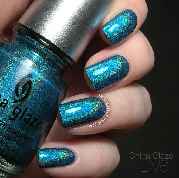 China Glaze DV8 from the still breathtaking OMG collection | The Swatchaholic . a blog about nail polish and makeup