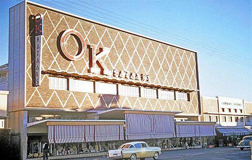 OK Furniture in the 1960's