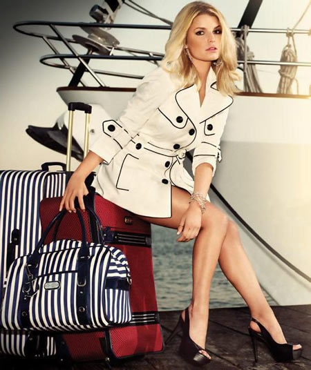 Jessica Simpson Clothing Accessory Line Shoot