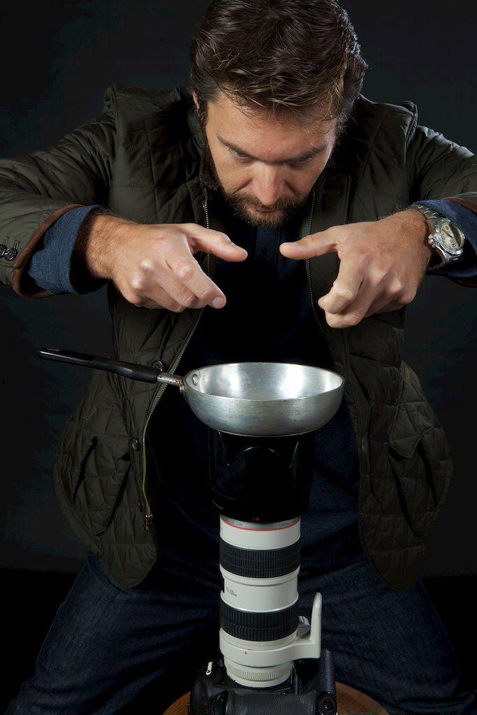 Frying eggs....