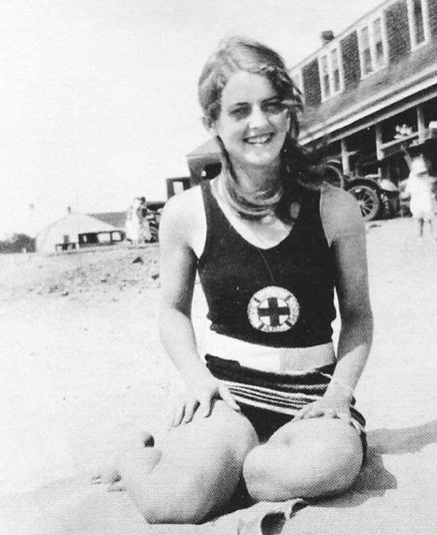 A very young Bette Davis