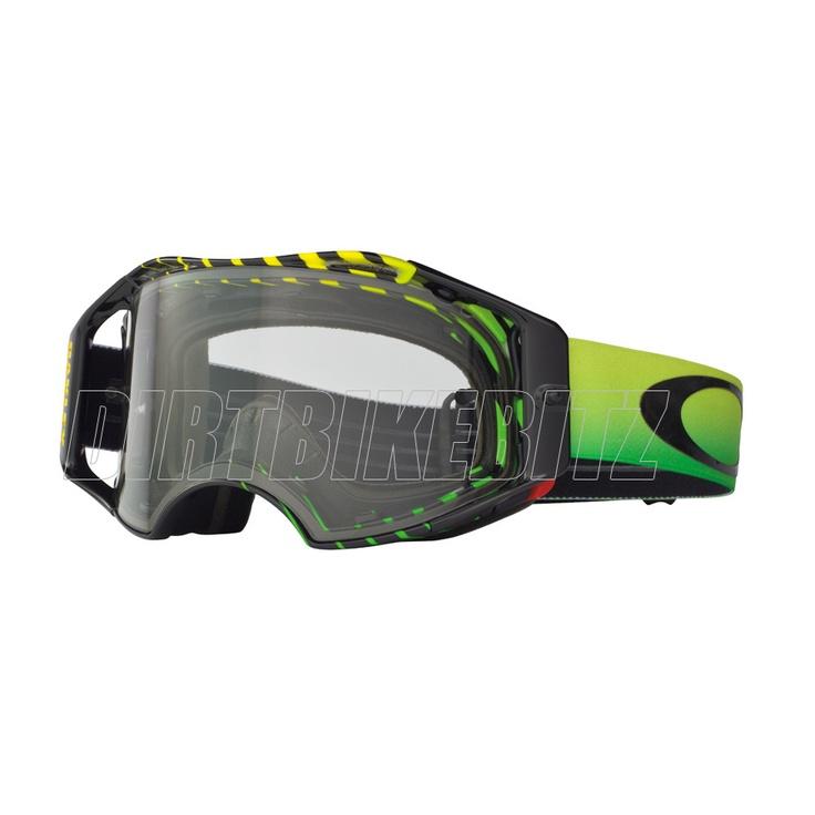 2013 Oakley Airbrake Mx Goggles - Ryan Villopoto Airbrake Goggle - 2013 Oakley Airbrake Mx Goggles - 2013 Motocross Gear - by