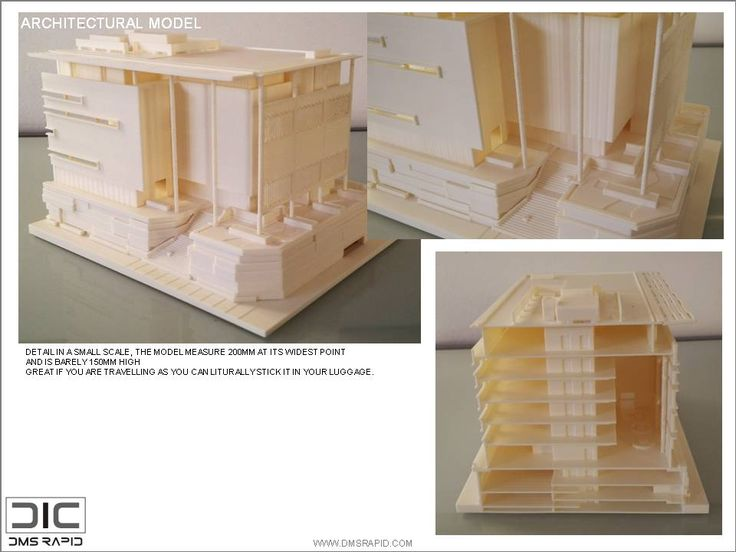 3D Print Architectural Model