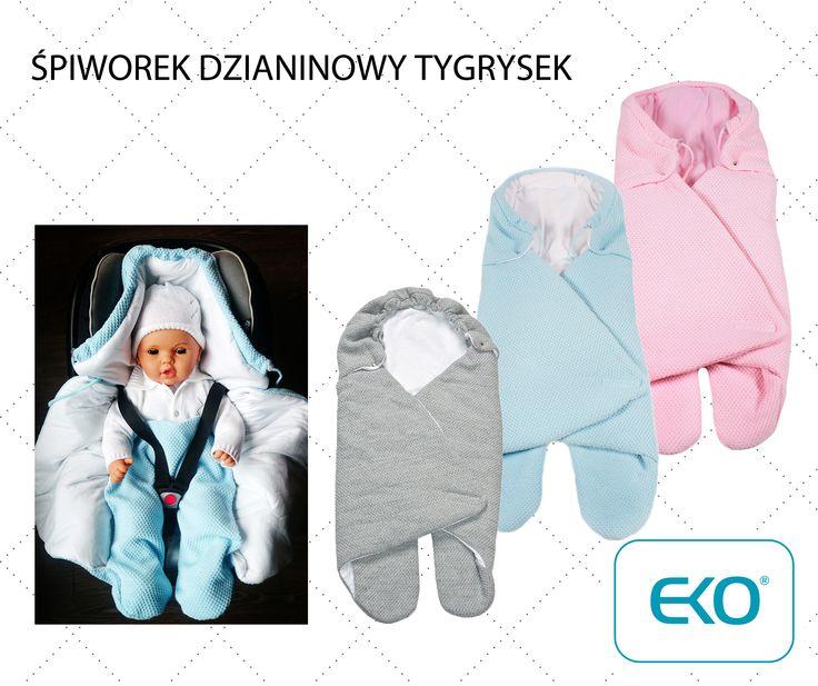 Śpiworek do fotelika, wózka i nie tylko... http://dladzieciaka.com/pl/267-spiwor-dzianinowy-tygrysek.html