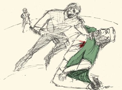 consequences of macbeths murder of duncan Imagination enables him to see all the implications of his evil deed in their most   after the murder of duncan he commits himself to an unnatural course from.