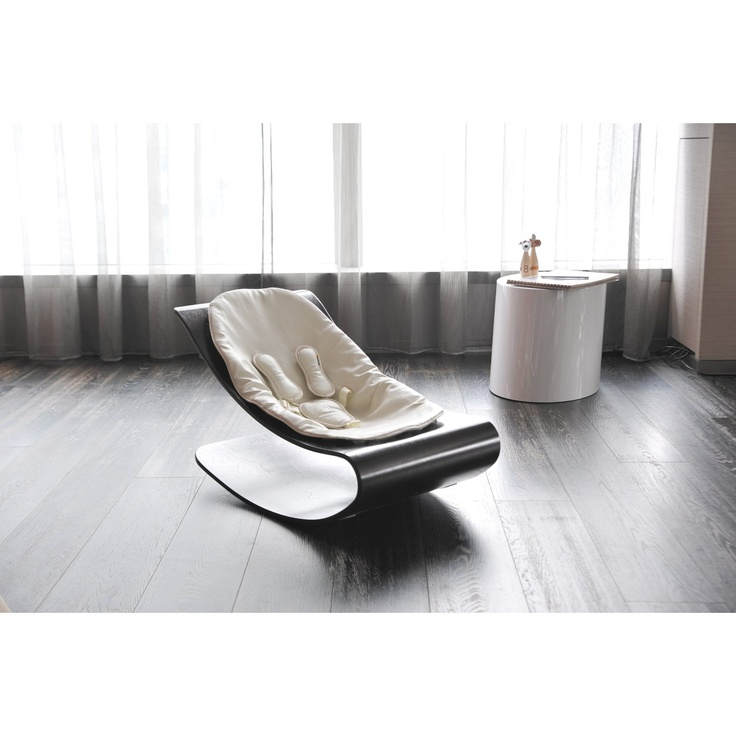 Bloom Coco Plexistyle Baby Lounger with Seat Pad