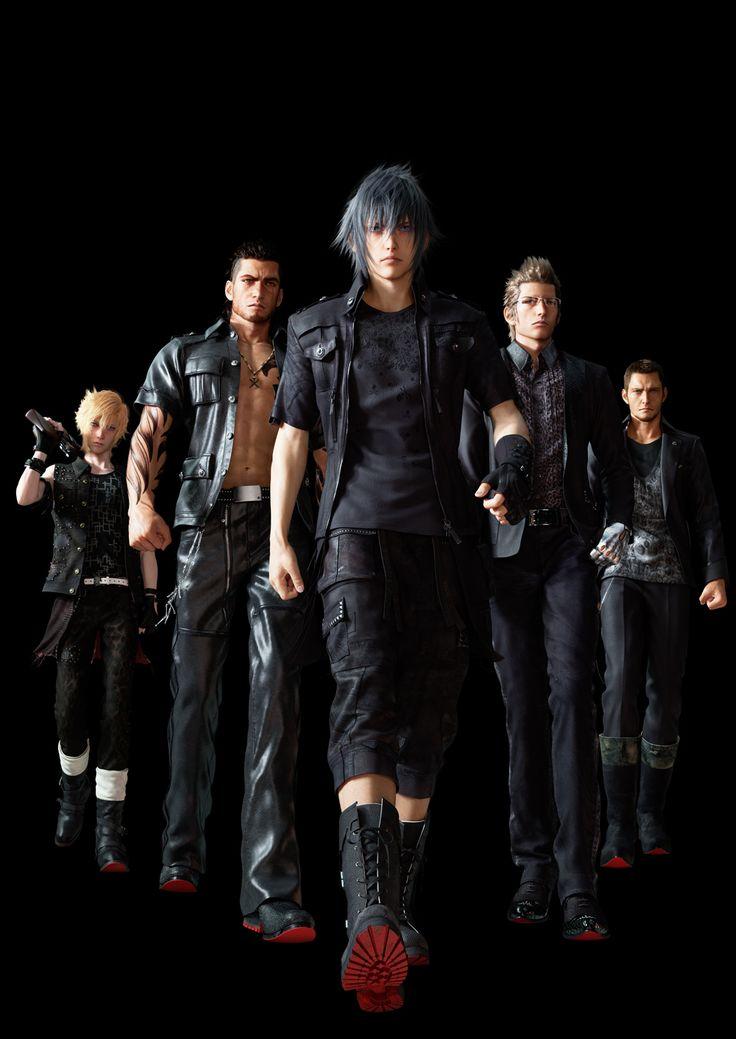 Final Fantasy XV cast