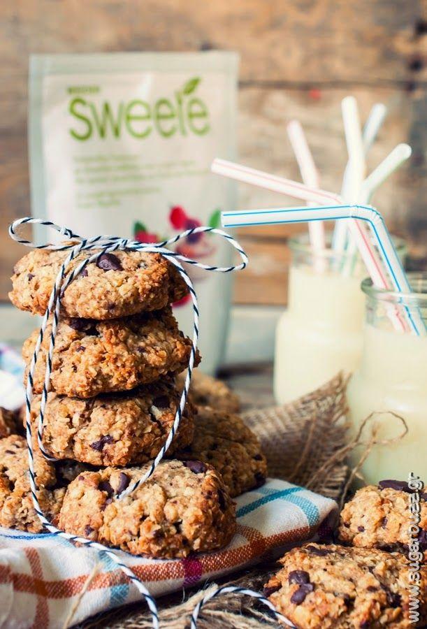 Sugar Buzz: Μπισκότα βρώμης χωρίς ζάχαρη - με Sweete Stevia