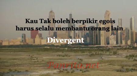 Film divergent merupakan sebuah film fiksi ilmiah yang rilis pada tahun 2014. Film ini diangkat dari novel karangan Veronica Roth dengan judul yang sama