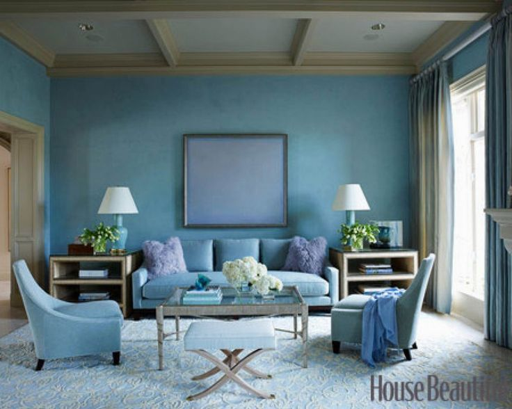 Living Room Design Ideas And Photos Part - 41: Download Blue Theme Modern Traditional Living Room Interior Design And  Decoration Ideas Big Side Table Turquoise