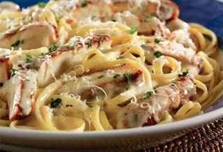 Red Lobster Restaurant Copycat Recipes: Cajun Chicken Linguine Alfredo