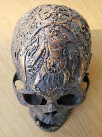 tibetan skulls   tibetan carved skull   skulls