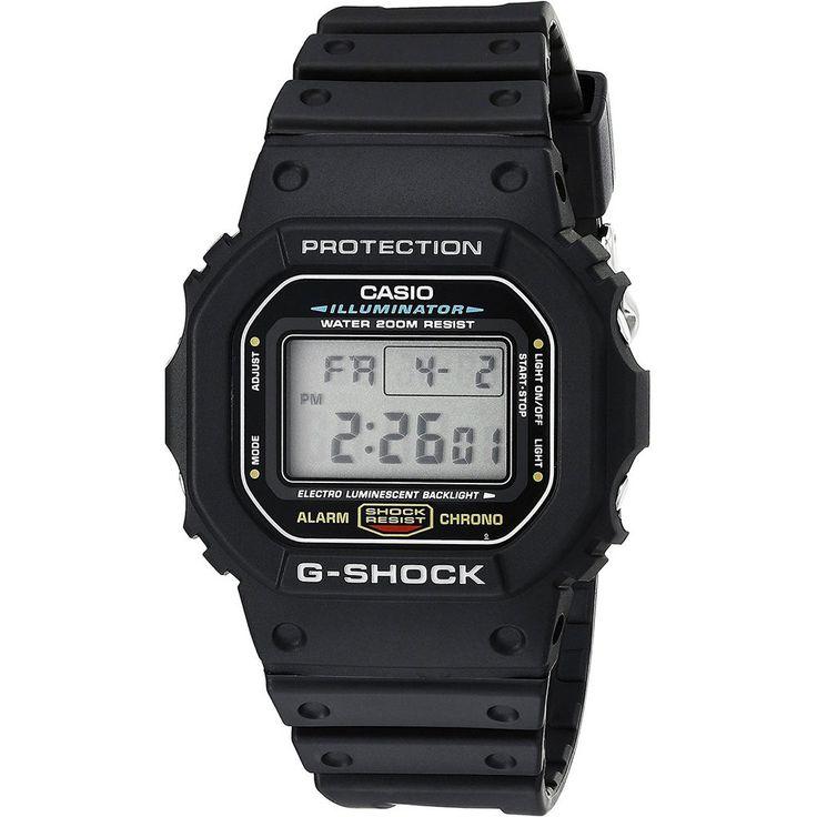 Casio Mens DW5600E-1V G-Shock Classic Digital Watch