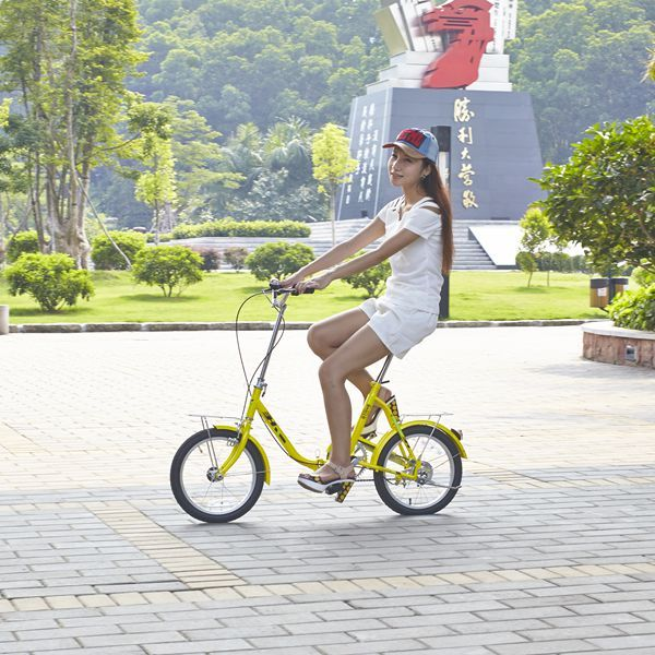 Súper bicicleta plegable de alta calidad niños bicycle 16 pulgadas bicicletas niños