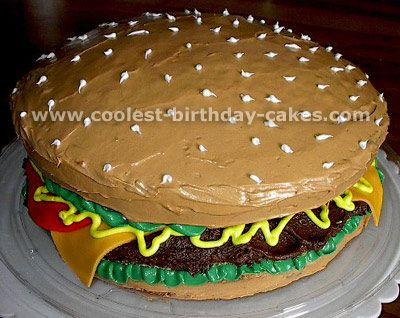 Cool birthday cake decorations