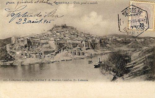 Postais Antigos de Portugal - Mértola - Blog da Rua Nove