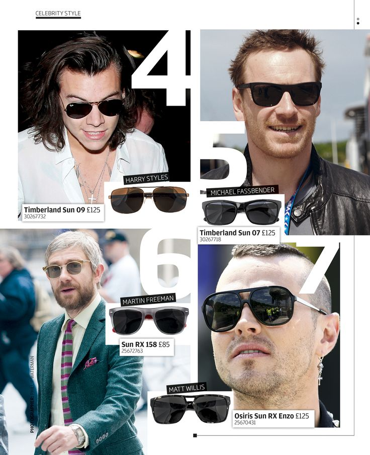 Turn up the heat with Specsavers stylish equivalents to the stars' shades.