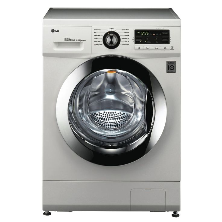 Check out the LG 7.5kg Front Load Washer at The Good Guys