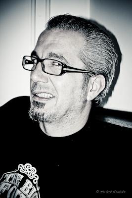 Franky Gomez, Best Dutch Blues drummer 2011  Copyright Herbert Hendriks