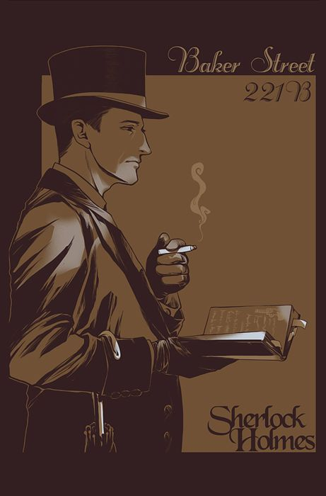 sherlock holmes fan art   Sherlock Holmes by ~JamesTheShark on deviantART
