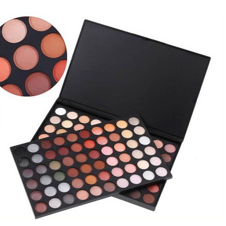 Makeup oogschaduw palet 120 Kleuren Ultra Shimmer Warm & Cool Palet Oogschaduw pallete Oogschaduw Make Cosmetische set kit