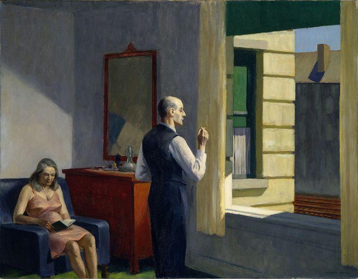 Souvent Les 367 meilleures images du tableau Peintures Edward Hopper sur  KV41