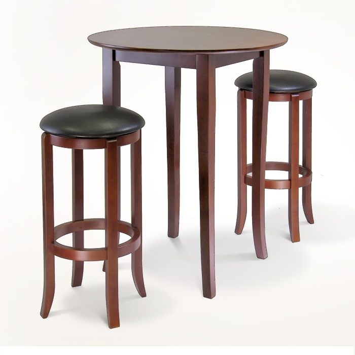 Inspirational Craftsman Pub Table and 2 Stools Combo
