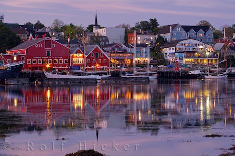 UNESCO named town of Lunenburg Nova Scotia.