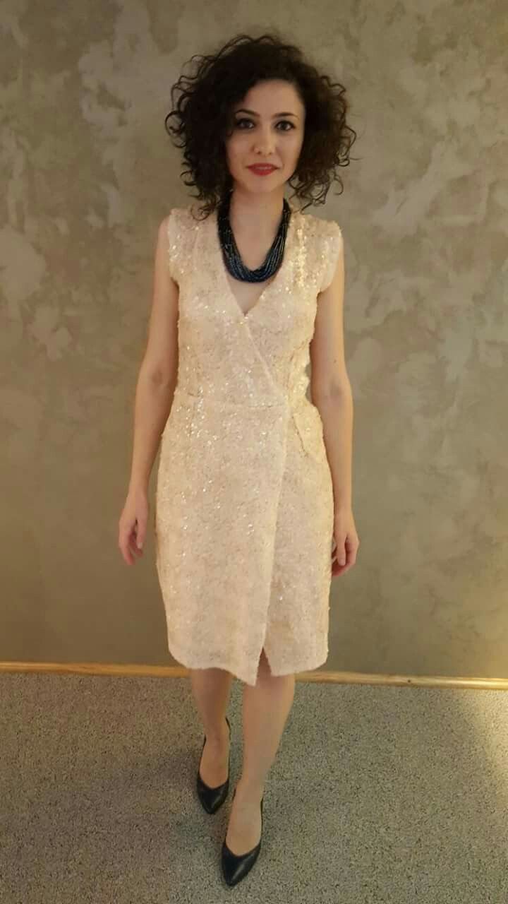Spangle dress