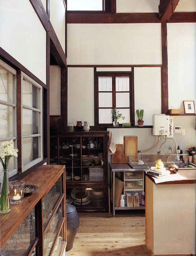Kitchen. From the Japanese Magazine Casa Brutus