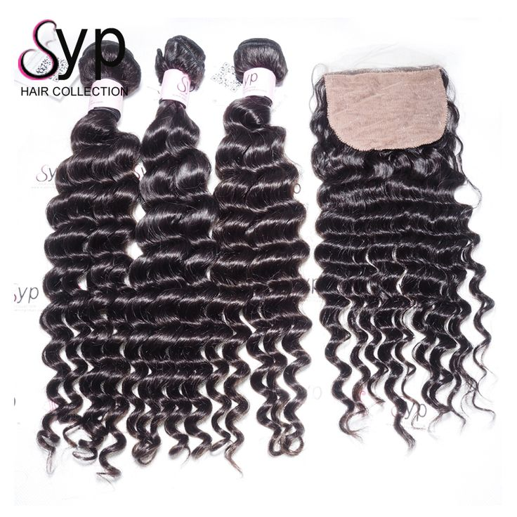 The 25 best cheap human hair extensions ideas on pinterest three bundles with silk base lace closureraw indian hair directly from indiaindian deep wavecheap human hair extension on salekeep wave after washing pmusecretfo Gallery