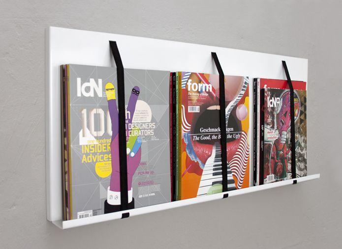 SALZIG_Zeitschriftenregal_02 · Sheet MetalShelvesWallsImpressions.  SALZIG_Zeitschriftenregal_02