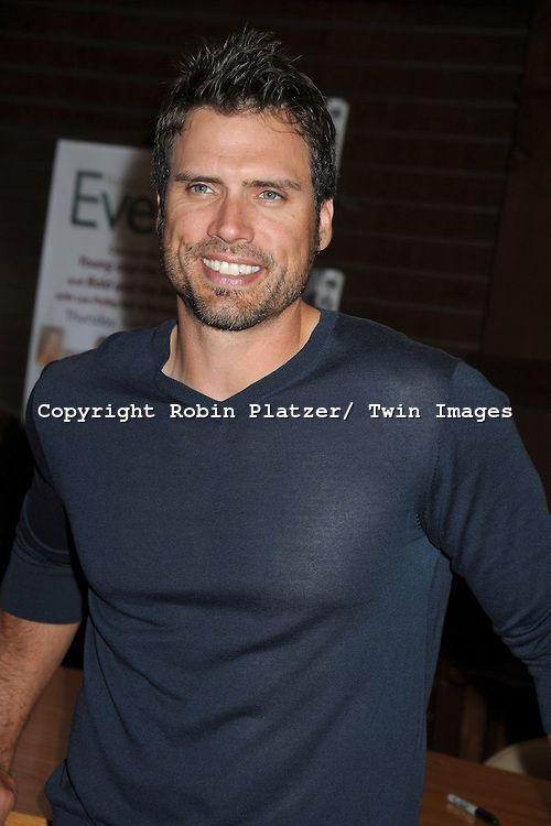 "joshua morrow pictures | Joshua Morrow attends the book signing of "" The Young & Restless LIfe ..."