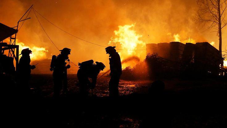 Katastrophenalarm ausgerufen: Waldbrände in Chile breiten sich rasant aus