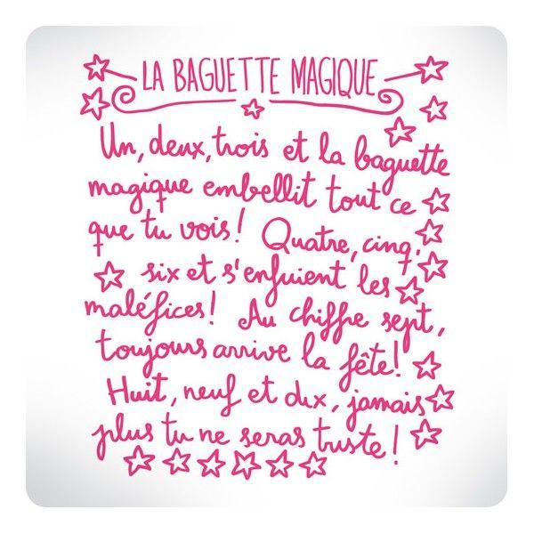 La Baguette Magique Words Quote Citation Quotes