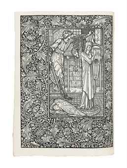 MORRIS, William (1834-1896). The Life and Death of Jason, A Poem. London: Kelmscott Press, 1895. Large 4° (290 x 214mm). Printed in Troy typ...