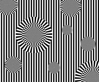 498 best images about optical illusions on pinterest for Geometric illusion art